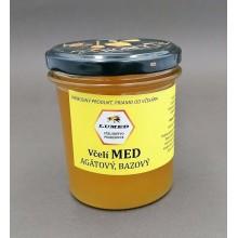 Včelí med agatový bazový špecialita 420 g